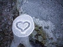 amour froid Image libre de droits