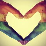 Amour gai Photo stock