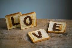Amour grillé Images stock