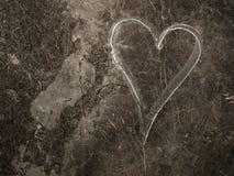 Amour grunge Photos libres de droits