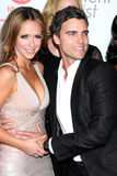Amour-Hewitt de Jennifer, Colin Egglesfield Images stock