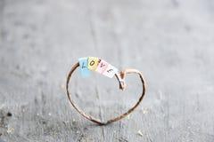 Amour, idée de jour de valentines Photo stock