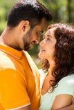 Amour indien de couples Image libre de droits