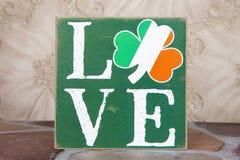 Amour irlandais Image libre de droits