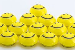 Amour jaune Photo stock