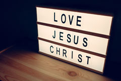 Amour Jesus Christ Photos stock
