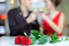 Amour. Jour de valentines Photos libres de droits