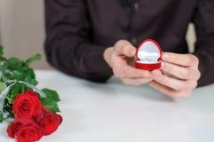 Amour. Jour de valentines Image libre de droits