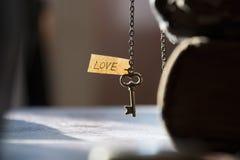 Amour, jour de valentines ou concept de mariage Image libre de droits