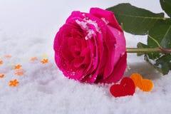 Amour Jour du ` s de St Valentine Beaux coeurs Photo stock