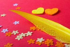 Amour Jour du ` s de St Valentine Beaux coeurs Photographie stock