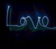 Amour léger de peinture Photo stock