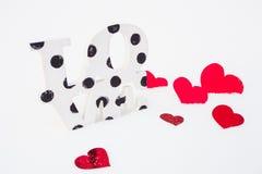 Amour la Saint-Valentin Image stock