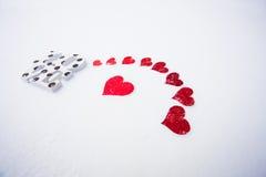 Amour la Saint-Valentin Image libre de droits