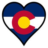Amour le Colorado illustration stock