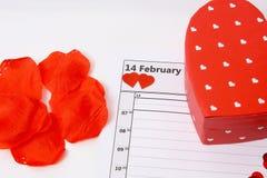 Amour le jour de valentines Image libre de droits