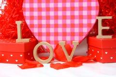 Amour le jour de valentines Image stock
