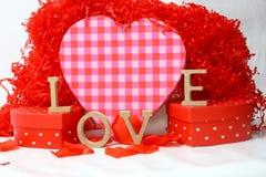 Amour le jour de valentines Photos stock