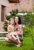 Amour - mère et enfant Image stock