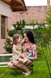 Amour - mère et enfant Images libres de droits