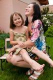 Amour - mère et enfant Photo stock