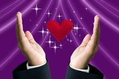 Amour magique Images stock