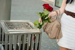 Amour malheureux Photo stock