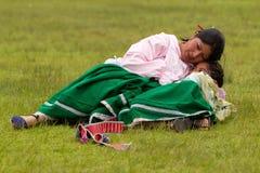 Amour maternel Photographie stock libre de droits