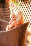 Amour maternel doux Image stock