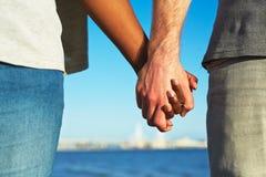 Amour multi-ethnique Image libre de droits