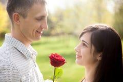 amour mutuel Photographie stock libre de droits