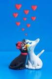 Amour noir et blanc Image libre de droits