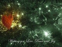 Amour, paix et joie Image libre de droits