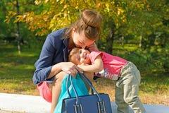 Amour parental Image stock