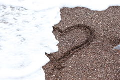 Amour perdu Image libre de droits