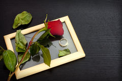 Amour perdu et attente du prochain Photos libres de droits