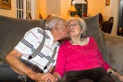 Amour plus âgé Images stock