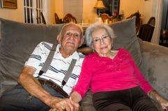 Amour plus âgé Photos stock
