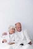 Amour plus âgé d'homme et de femme Photo libre de droits