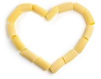 Amour pour des pâtes Images stock