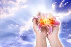 Amour pour Dieu Photos libres de droits