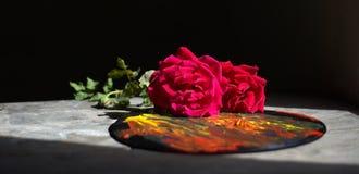 Amour pour l'art Photographie stock
