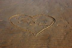 Amour pour la mer Photographie stock libre de droits