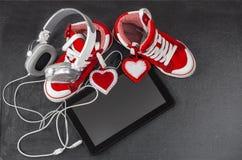 Amour pour le concept de musique Image libre de droits