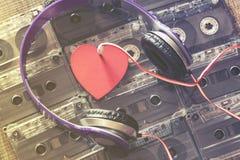 Amour pour le concept de musique Photos libres de droits