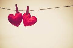 Amour pour le jour du ` s de Valentine Images stock