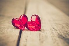 Amour pour le jour du ` s de Valentine Photo libre de droits