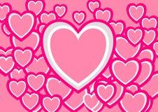 Amour pour le Saint Valentin Photo libre de droits