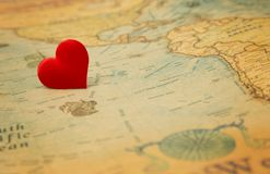 Amour pour le voyage Image libre de droits