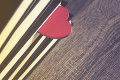 Amour pour lire le concept Images stock